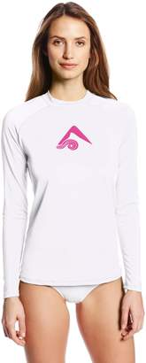 Kanu Surf Women's Keri Long Sleeve UPF 50+ Rash Guard