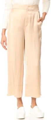 Helmut Lang Double Satin Pants $450 thestylecure.com