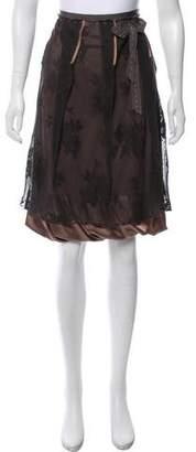 Schumacher Lace Knee-Length Skirt