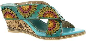 Spring Step L ARTISTE Women's L'Artiste by Spring Step, Enticing Mid Heel Sandals