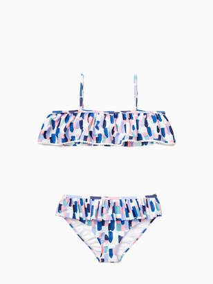 Kate Spade girls off the shoulder two-piece