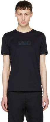 Fendi Navy Forever Patch T-Shirt