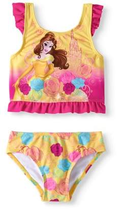 Princess Beauty and the Beast Belle Toddler Girl Tankini Swimsuit