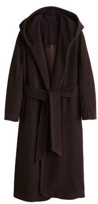 MANGO Long recycled wool coat