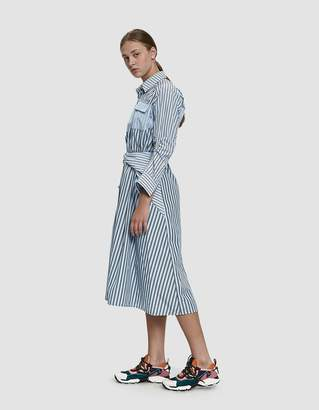 Carven Striped Shirt Dress
