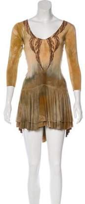 Mara Hoffman Printed Tie-Dye Dress