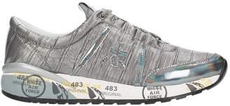 Premiata Ann Silver Sneakers