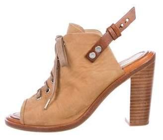 Rag & Bone Lace-Up Slingback Sandals