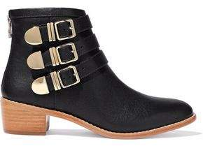 Loeffler Randall Leather Ankle Boots