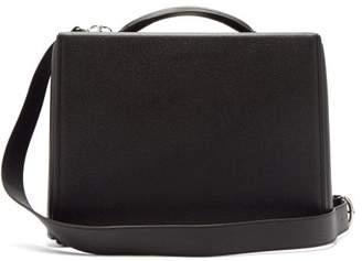 Mark Cross Grace Saffiano Leather Briefcase - Mens - Black