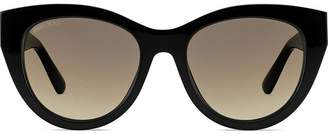 Jimmy Choo Eyewear chain trimmed sunglasses