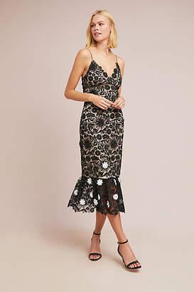 ML Monique Lhuillier Cherie Lace Dress
