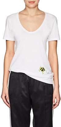 "Barneys New York HAAS BROTHERS XO Women's ""Bee Yourself"" Pima Cotton T-Shirt"