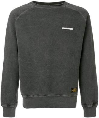 Neighborhood distressed logo sweatshirt