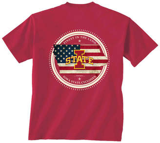 New World Graphics Men Iowa State Cyclones Flag Fill T-Shirt