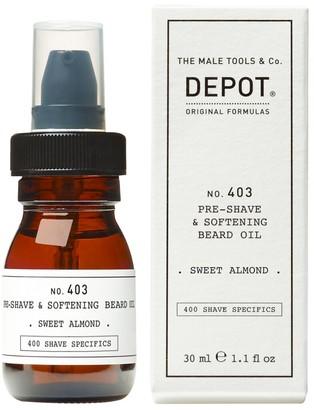 Depot N.403 Pre Shave & Softening Beard Oil