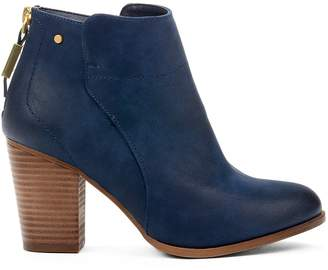Yellow Shoes MORI Womens Heeled Ankle High Boots - Casual & Comfortable - Medium Block Chunky Heel - Made from Synthetic Leather - Cowboys & Western Style - Perfect Booties for Spring Fall