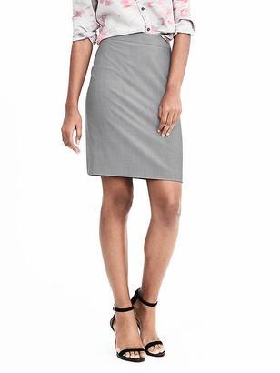 High-Waisted Lightweight Wool Pencil Skirt $98 thestylecure.com