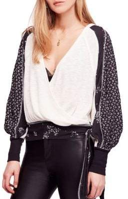 Free People Auxton Blouse
