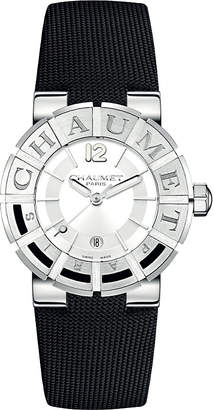 "Chaumet W1722H-35A Class One Paris"" stainless steel technical fabric watch"