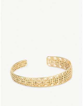 Kendra Scott Uma 14ct gold cuff bracelet