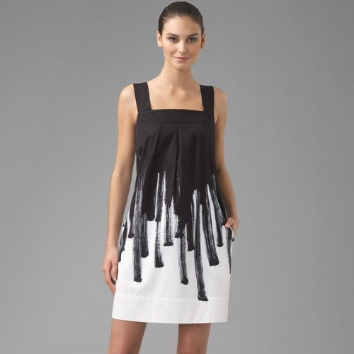 Vince Paint Brush Mini Dress