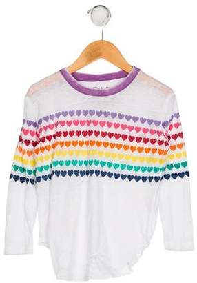 Chaser Girls' Printed Knit Top