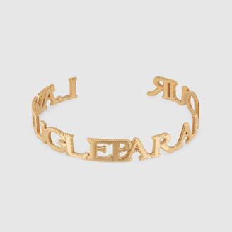 """Gucci """"L'aveugle Par Amour"""" cuff bracelet"""