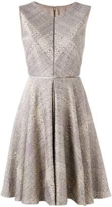 Talbot Runhof sequin embellished dress