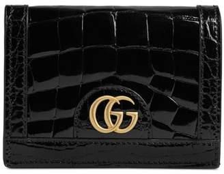 Gucci Ophidia Genuine Crocodile Card Case