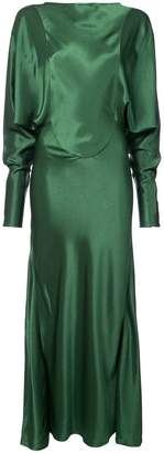 Victoria Beckham v-back evening dress