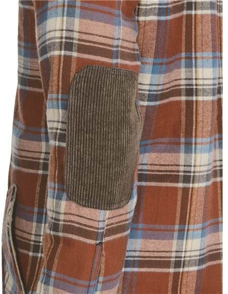 Dakota Grizzly Dustin Flannel Shirt - Sherpa-Lined, Long Sleeve (For Men)