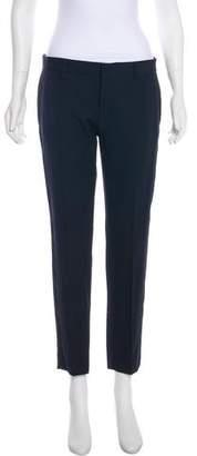 Saint Laurent Mid-Rise Tuxedo Pants