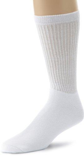 Ecco Men's 3 Pack Solid Crew Sport Socks