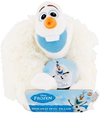 As Seen on TV Hideaway Pets Olaf Pillow All Ages