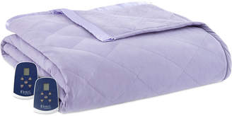 Shavel Micro Flannel 7 Layers of Warmth Queen Heated Blanket Bedding