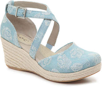 b.ø.c. Bree Espadrille Wedge Pump - Women's
