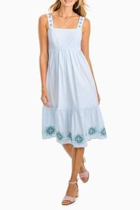 Southern Tide Sonya Seersucker Dress