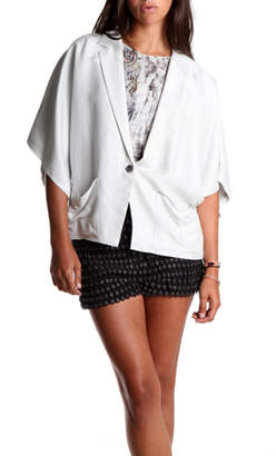Elizabeth and James Cropped Blazer