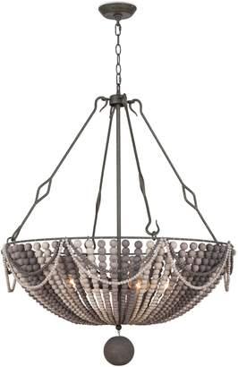 Regina-Andrew Design REGINA ANDREW DESIGN Bora Bora Wood Bead Chandelier