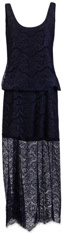 Carven Long lace dress