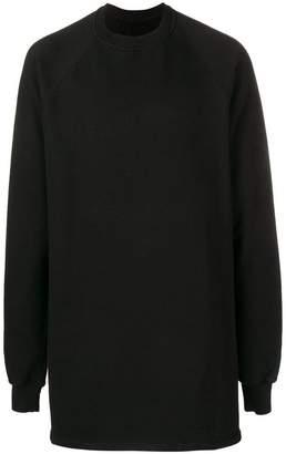 Rick Owens longline sweatshirt