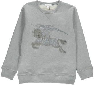 Dapy Embroidered Logo Sweatshirt $167.70 thestylecure.com