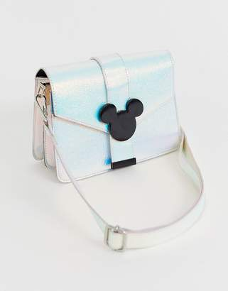 Skinnydip x Disney Holo Mickey Cross Body Bag