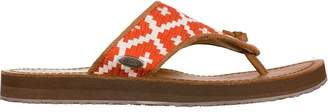 Acorn Artwalk Leather Flip Flop - Women's