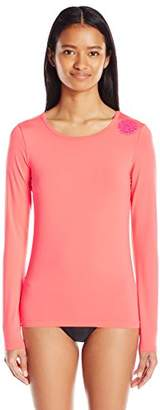 Rip Curl Women's wash Loose-Fit Long-Sleeve UV Rashguard Top