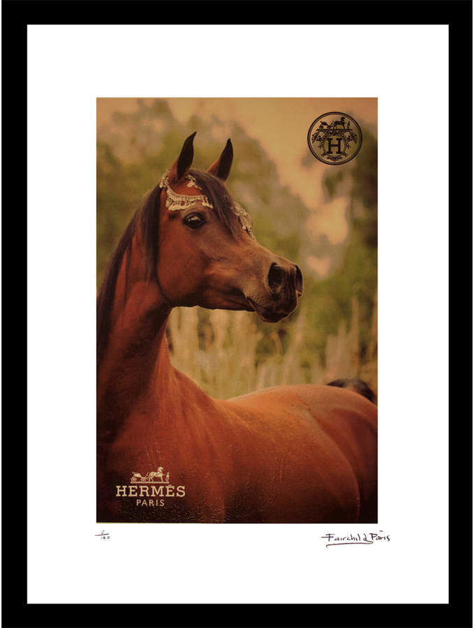 Fashion Flash Arabian Au Natural by Fairchild Paris (Framed)