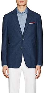 Canali Men's Cotton Two-Button Sportcoat - Navy