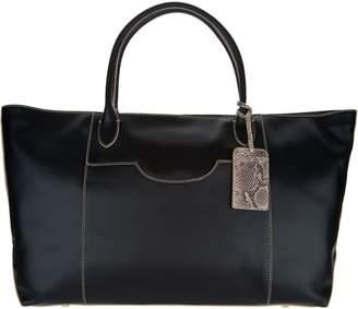 G.I.L.I. Got It Love It G.I.L.I. Italian Leather Oversized Tote Bag