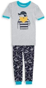 Little Boy's Two-Piece Pirate Cotton Pajama Set
